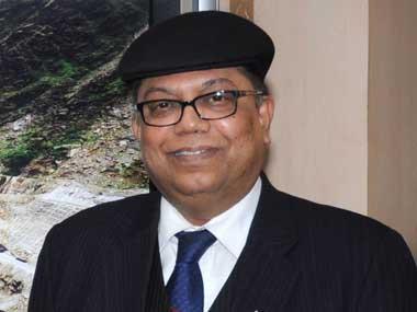 NTPC chief Arup Roy Choudhury. Image courtesy PIB