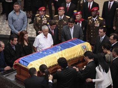 HugoChavez-coffin-Reuters