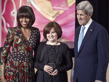 US honours Delhi rape victim with International Women of Courage Award