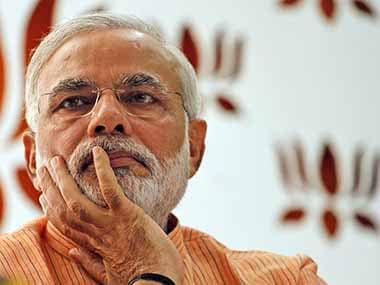 Gujarat Chief Minister Narendra Modi. AP