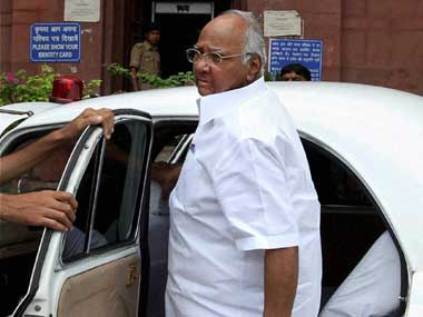 Sharad Pawar in this file photo. PTI