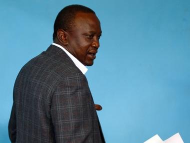 Uhuru Kenyatta. Reuters