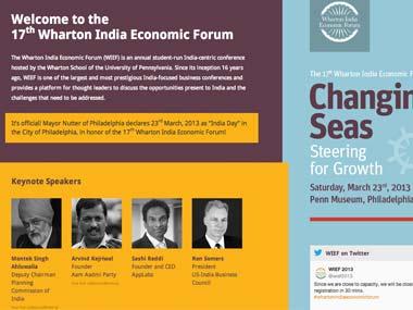 Wharton India Economic Forum restricts media coverage of event
