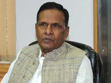Union Steel Minister Beni Prasad Verma. Image courtesy PIB