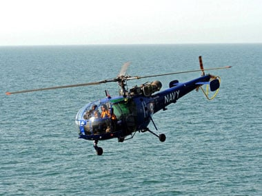 Hindustan Aeronautics Limited delivers Chetak helicopter to Indian Navy one month ahead of schedule
