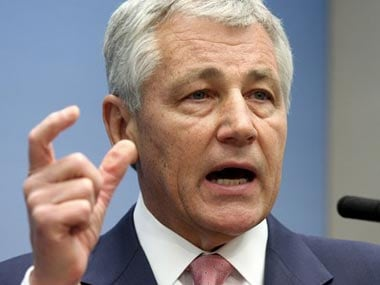 Hagel makes first Afghan trip as US defence chief