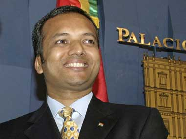 Fiel image of Congress leader Naveen Jindal. PIB