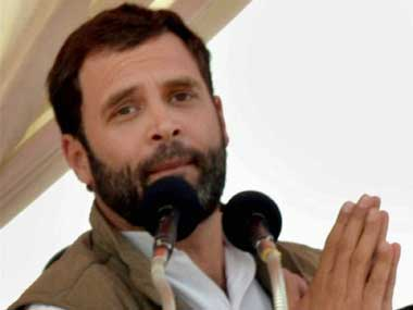 Congress vice president Rahul Gandhi. PTI