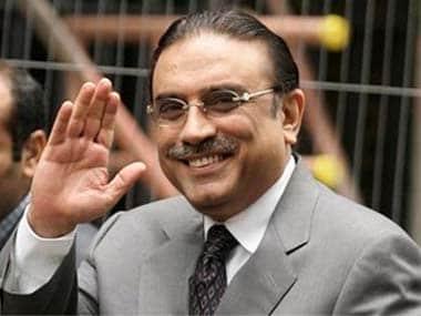 Asif Ali Zardari. AP