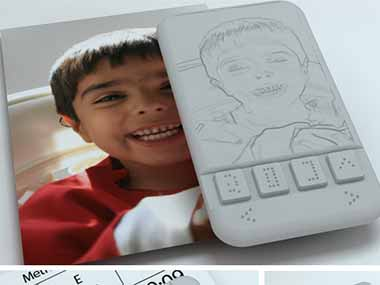 NID alumnus develops Braille phone for visually-impaired