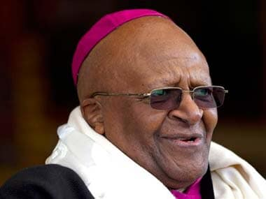File image of Desmond Tutu. AP