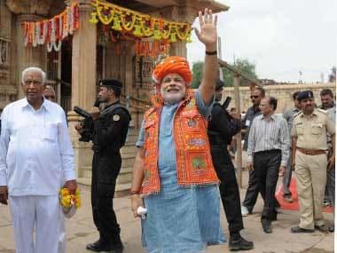 Communist paranoia as Modi heads for Narayana Guru ashram