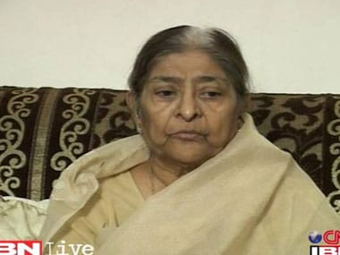 File image of Zakia Jaffri. IBN Live