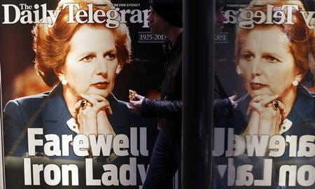 "Cameron: ""Iron Lady"" Thatcher made Britain great again"
