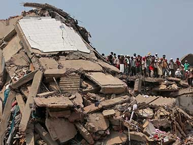Bangladesh building collapse toll hits 675