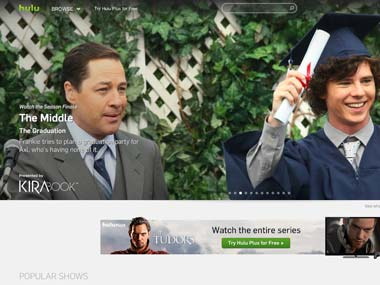 Hulu video streaming site attracts four major bidders