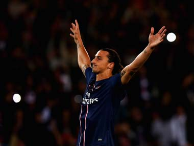 Ibra. Getty Images