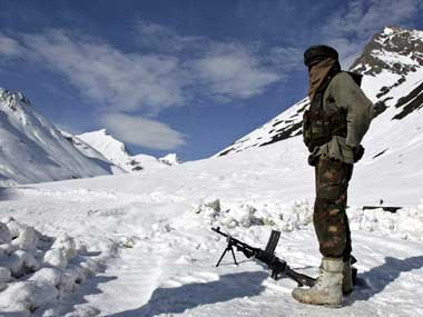 Representational image of Indian army position in Ladakh. Reuters