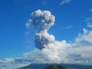 Volcano in Nicaragua erupts after 110 years