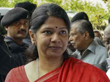 File image of Kanimozhi. PTI