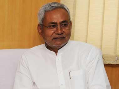Bihar Chief Minister Nitish Kumar. Image courtesy PIB