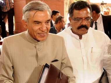 Former railway minister Pawan Kumar Bansal. Image courtesy PIB