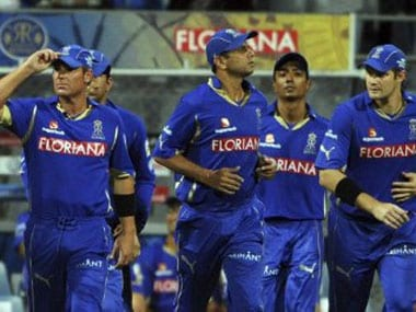 File image of Rajasthan Royals players. PTI