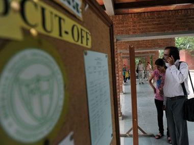 Cutoff relaxed for girls in some Delhi University colleges