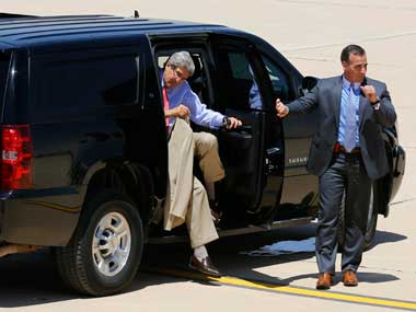 Kerry's visit may yield little. Reuters