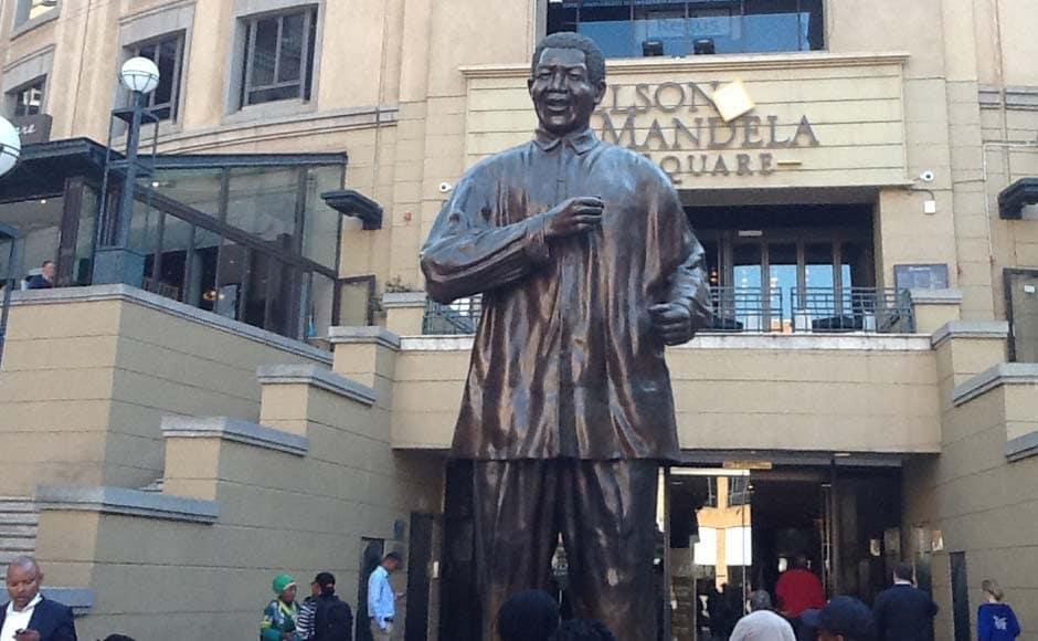 Mandela Square in Sandton, Johannesburg: Dr Joe Thomas