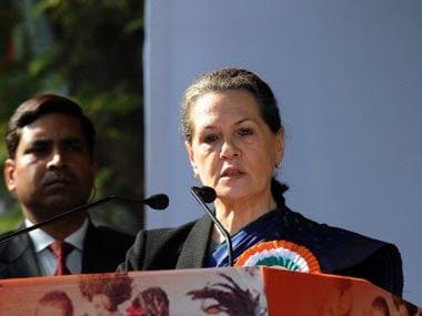 Sonia Gandhi. AFP