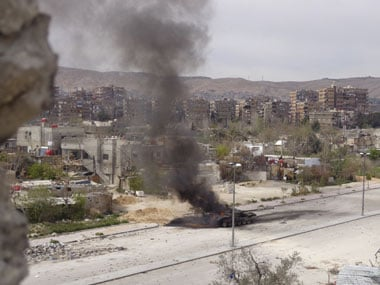 Car bomb explodes in Syrias Homs, 7 feared dead