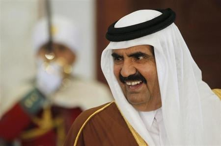 Qatar emir to make way for son, setting rare Gulf Arab example