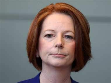 Gillard hasn't lost the PM's post yet. Getty Images