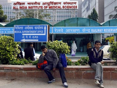 File image of AIIMS. AFP