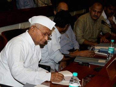 Anna Hazare. PTI