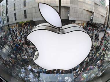 Apple logo is seen in this file photo. AP