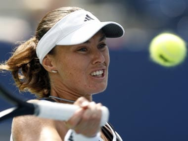 The Swiss Miss has been keeping herself busy of late, participating in the World Team Tennis League and in the legends doubles events at the slams. Reuters