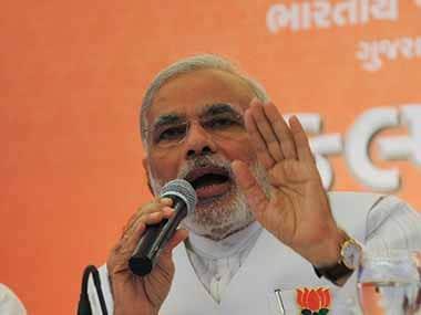 Gujarat CM Narendra Modi. AFP