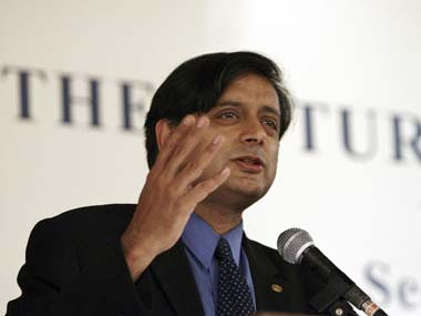 Shashi Tharoor in this file photo. Reuters