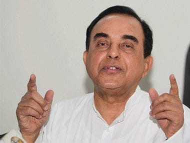 Subramanian Swamy attacks Jung; says he takes instructions from Ahmed Patel
