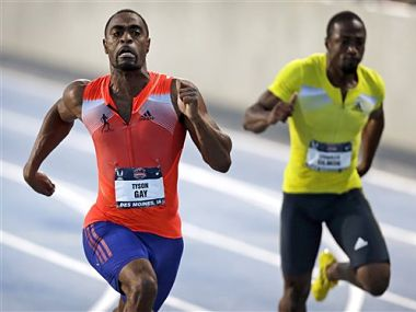Sprinter Tyson Gay failed more than one drug test this year