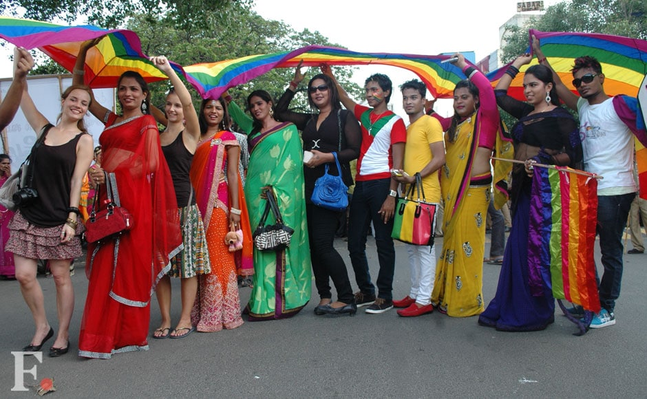 The Chennai Rainbow Pride rally saw a large number of LGBT activists taking part. Firstpost.