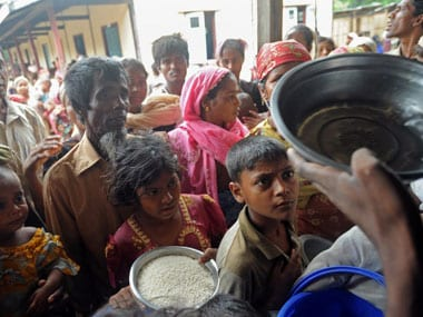 At least 10,000 Rohingya refugees have fled to Bangladesh from Myanmar: UN