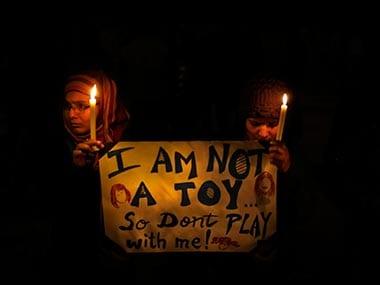 File photo of Delhi rape protests. Image used for representational purposes. AP