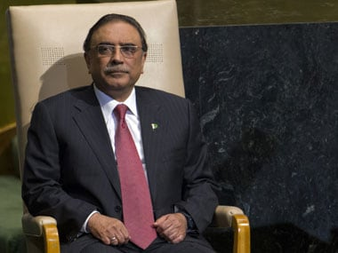 File Image of Asif Ali Zardari. Reuters