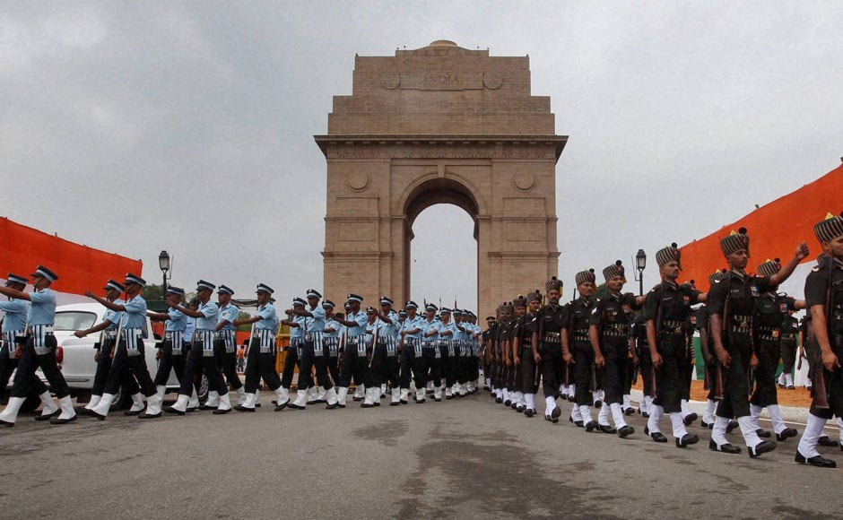 Image result for india gate independence day