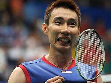 File photo of Lee Chong Wei. Associated Press