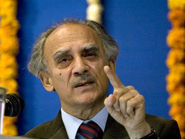 File photo of Arun Shourie. AFP