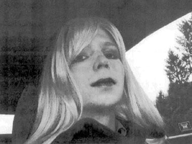 File image of Chelsea Manning. AFP.